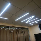 Aluminio 6063 IP44 de Trunking lineal LED Luz perfecta