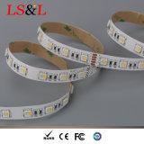 60LEDs/M 5050 RGBW Ledstrip (4 spaanders in één SMD)