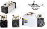 Bitmain Antminer L3+ Litecoin Miner 800W/504mh/S---PSU Inclued Shiping gratuit