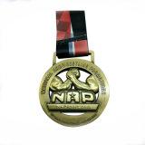 Пользовательский логотип 3D-сплавов металла спортивные медали с различным покрытием