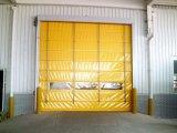 Il portello ad alta velocità dell'otturatore del rullo veloce rotola in su il portello veloce di rotolamento del PVC del portello