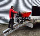 Energía eléctrica de 500kg vía Mini Dumper/carretilla/Muck carretilla/Jardín Transporter/cargador/Mini Transporter/Crawler Dumper Ce