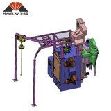Doppelter Aufhängungs-Typ Granaliengebläse-Maschine hakenförmig, Modell: Mhb2-1012p11-2
