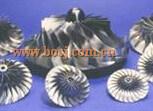 高性能のターボ鋼片の圧縮機の車輪784369-0002/の758351-0005インペラーの刃CNCの車輪