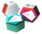 Envases de papel barato jabón artesanal de verificación para Cosmética