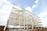 Edificios prefabricados de la estructura de acero en propiedades inmobiliarias de la construcción