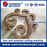 4 eixo de mosaico de jacto de água abrasivo máquina de corte CNC