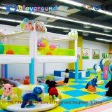 Le modèle neuf badine le château vilain de cour de jeu d'intérieur à vendre