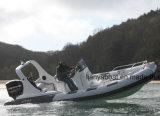 Liya 20FT/6.2m Semi-Rigid Opblaasbare Boot van de Rib voor Verkoop