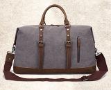 Large-Capacity手によって傾けられるキャンバス袋の荷物袋旅行単一の肩のパックのトートバック
