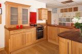 personalizado armário de cozinha de madeira altamente brilhante