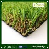 高密度人工的な芝生の草180stitchの擬似草