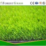 Hete het Verkopen Vorm 4 van het Garen van de Diamant het Groene Synthetische Gras van de Toon aan Britse Markt