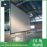 250 дюйма 16: 9 Портативный кинотеатр экран/ передней или задней панели быстрого складывания проекционного экрана/ большой открытый на экране домашнего кинотеатра