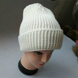 Шлем Beanie зимы Headgear Knit Beanie Pompom шерсти зимы