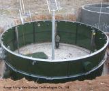 Biogasのダイジェスター500m3 CstrリアクターBiogasのプラント