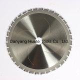 Tct a lâmina da serra para corte de alumínio, lâmina de corte de metais