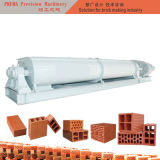発射された赤レンガのミキサーの粘土の煉瓦作成機械