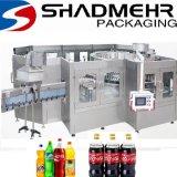 Bebidas carbonatadas automática máquinas llenadoras de botella
