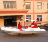 Liya 19ft deporte costilla costilla inflables Hypalon Barco Barco