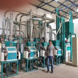 Completare la riga macchina di macinazione di farina di cereale per il servizio del Kenia