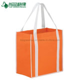 Meilleures ventes de Custom Cheap Two-Tone Non-Woven Eco Shopping sacs réutilisables