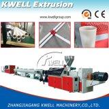 Produzione del tubo del PVC che fa macchina, macchina dell'espulsione del tubo di acqua