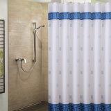 Cortina de ducha de poliéster impermeable ecológicas para el cuarto de baño (18S0063)