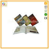 Service d'impression de brochure de magasin de catalogue de livre (OEM-GL055)