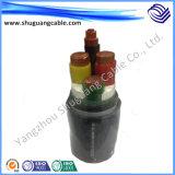 Кабель напряжения тока XLPE/PVC/средний