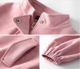 Куртка PU Lether замши пальто изготовленный на заказ зимы напольная для девушок