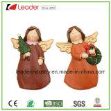 Polyresin 3D Navidad Imanes estatuilla para la decoración del hogar