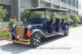 Самокат пассажирского автомобиля тележки гольфа корабля 12 Seater электрический классицистический