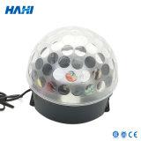 Bola ligera sin hilos del disco del cristal LED del LED Bluetooth mini