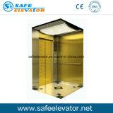 La cabane de rétroviseur passager en acier inoxydable ascenseur