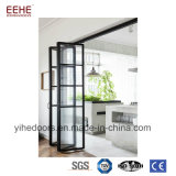 Дверь складчатости дверей складчатости китайского поставщика алюминиевая стеклянная