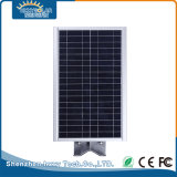 IP65 12W LED integrada de aleación de aluminio de las luces solares de la calle