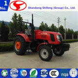 Трактор фермы, аграрный трактор, котор катят трактор с ISO
