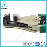 亜鉛合金のハンドルおよびマンガン自動電気ワイヤーストリッパー