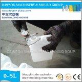 Extrusion automatique de HDPE de bouteille de corps creux de machine détergente de soufflage