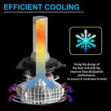 최고 밝은 6000lm 30W H4 H7 9005 9006의 옥수수 속 보충 자동 차 LED 헤드라이트 전구