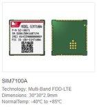 지원 미국 악대를 가진 SIM7100A 4G 모듈