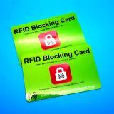 Бумажник банковскую карту данных защиты против сканирование RFID Блокирование карты