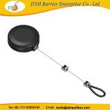 Antirrobo Pullbox ronda anillo para mostrar cadena retractor