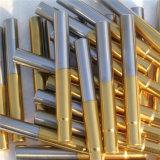 Strumentazione di titanio del rivestimento dell'oro del nitruro di vuoto
