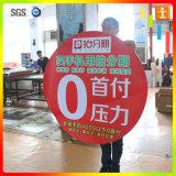 Het Overdrukplaatje van het Venster van Customed, Sticker voor Reclame (tj-ct-25)