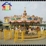 16 assentos que revolvem o carrossel da corte dos cavalos para o parque de diversões