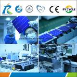 Высокая эффективность 156.75mmx156.75мм дешевые солнечные элементы сорт Polycrystalline