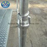 電流を通された鋼鉄熱い浸されたCuplockの足場積載量