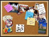 Mensaje Corkboard para su sitio
